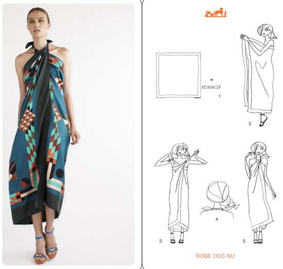 6 Ways To Turn A Scarf Into A Fashion Top Fashionelle Studio